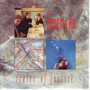 Scales Of Justice 7 inch vinyl - Living In A Box