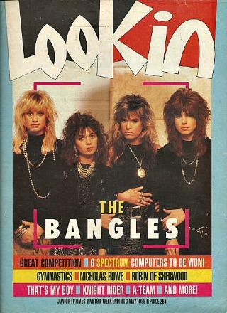 Look-In Magazine (May 1988) ft. The Bangles on the front cover
