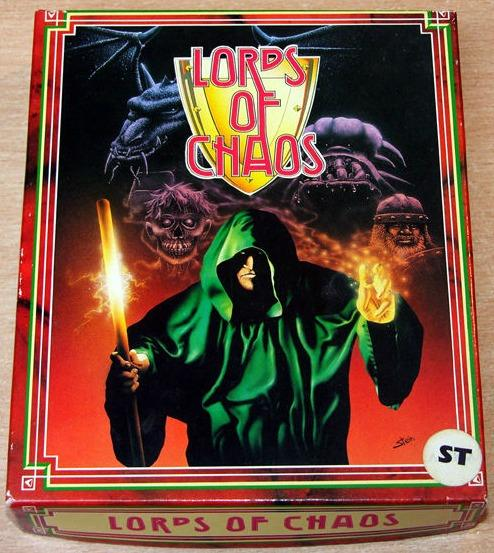 Lords of Chaos Atari ST box