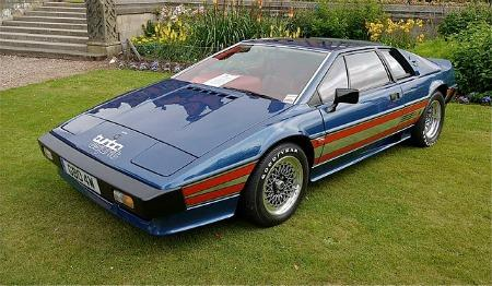 Lotus Esprit Essex Turbo (1980) - only 45 cars featured the Essex Petroleum livery