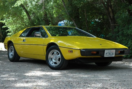 Yellow Lotus Esprit S1 from 1977