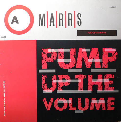 M/A/R/R/S Pump Up The Volume - single sleeve