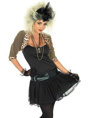 Madonna 80s Wild Child Costume for Adults