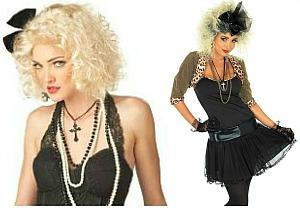 Madonna 80s Fancy Dress Costumes