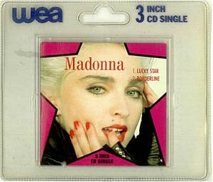 MAdonna - Lucky Star and Borderline - 3 inch CD single