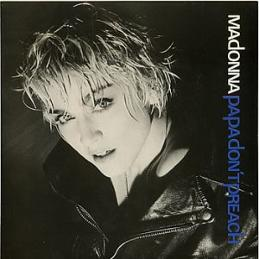 Madonna - Papa Don't Preach single sleeve