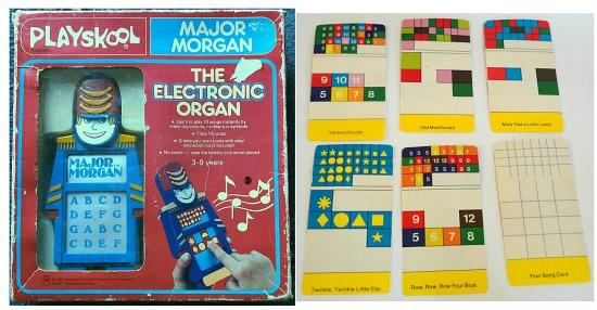 Major Morgan Electronic Organ by Playskool