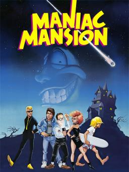 Maniac Mansion artwork
