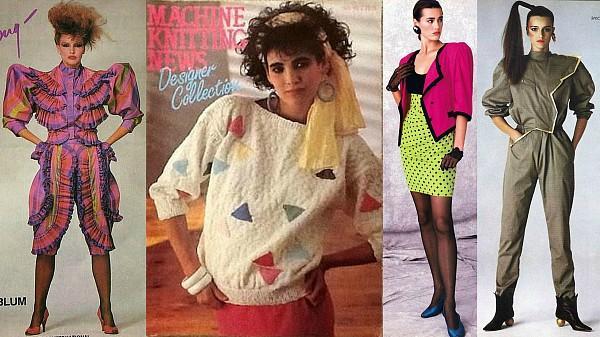 80s fashion trends women