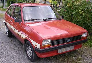 Ford Fiesta Mk1 Festival limited edition