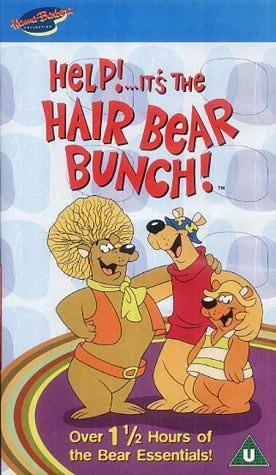 Help! It's the Hair Bear Bunch VHS