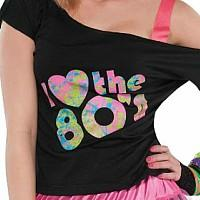 I Love the 80s Costume for Women