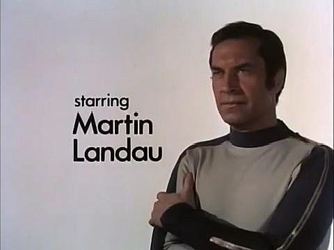 Martin Landau as Commander John Koenig in Space 1999