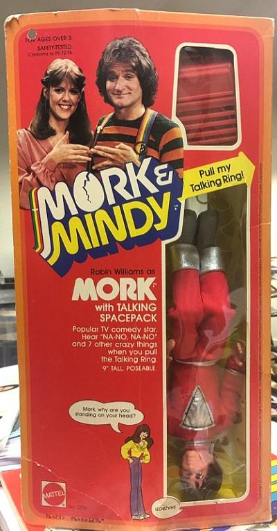 Mork talking doll (1979) by Mattel