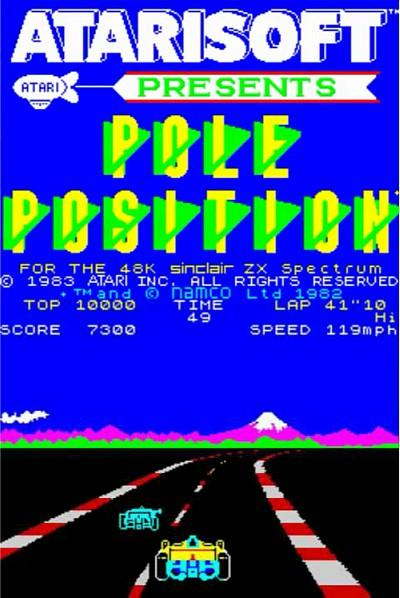 Pole Position on the ZX Spectrum