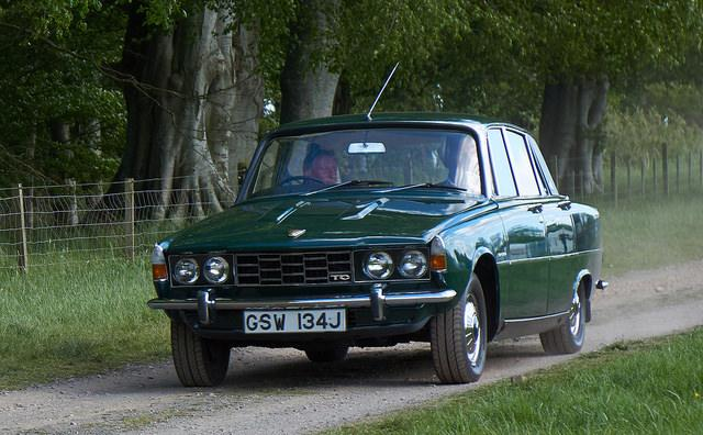 Rover P6 3500 TC - public domain photo