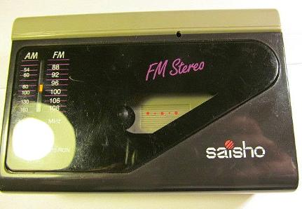 Saisho PS 250 Personal Cassette Radio Player