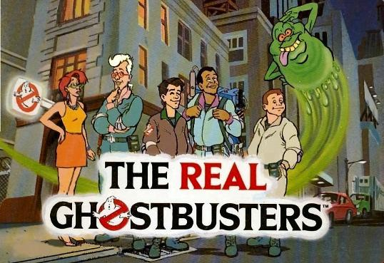 The Real Ghostbusters (1986) cartoon