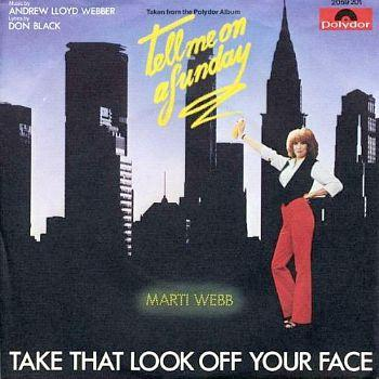 Marti Webb - Take That Look Off Your Face - vinyl single (1980) Polydor