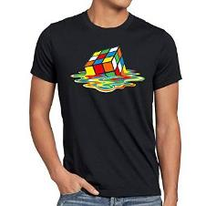 Melting Rubik's Cube T-shirt