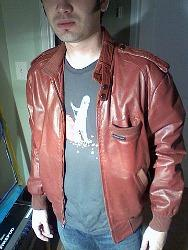 Mens 80's Fashion - Members Only Jacket