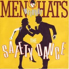 Men Without HAts - The Safety Dance single sleeve