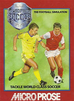 Microprose Soccer Front cover art