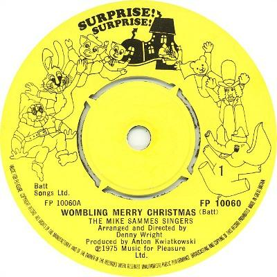 The Mike Sammes Singers - Wombling Merry Christmas - Surprise Surprise