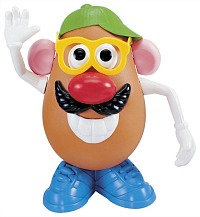 Retro Mr Potato Head toy