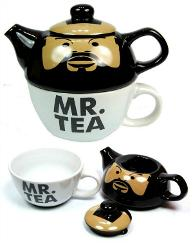 Mr. Tea tea for one teapot and cup set