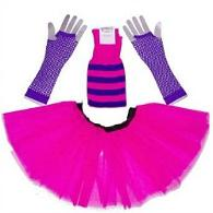 Neon Pink and Purple Tutu Set
