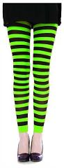 Neon striped Pamela Mann tights