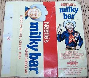 Nestle's Milky Bar - 70s wrapper