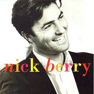 Nick Berry album sleeve / cover