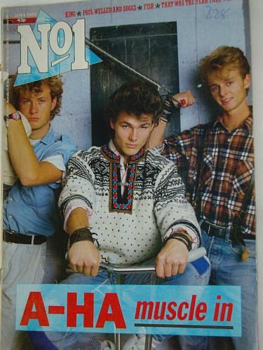 No 1 Magazine - 4th January 1986 - A-ha