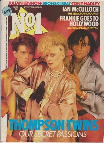No1 Magazine (8th Dec 1984) ft. Thompson Twins