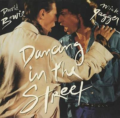 David Bowie and Mick Jagger | Dancing in the Street single (1985)