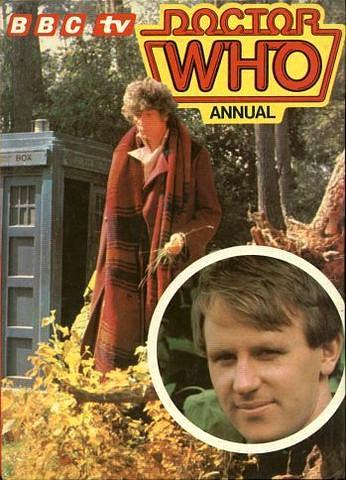 BBC TV Doctor Who Annual 1982 ft. Tom Baker and Peter Davison