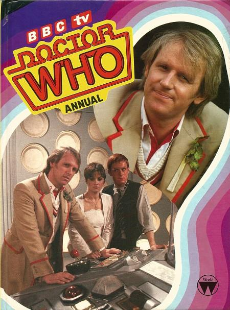 Doctor Who Annual 1984 ft. Peter Davison as the fifth Doctor
