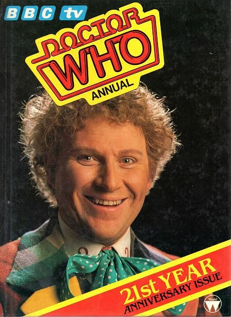 BBC Doctor Who Annual 1985 ft. Colin Baker