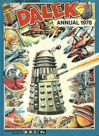 Rerry Nation's Dalek Annual 1978 - BBC TV