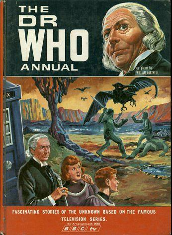 The Dr Who Annual 1967 by BBC TV - William Hartnell