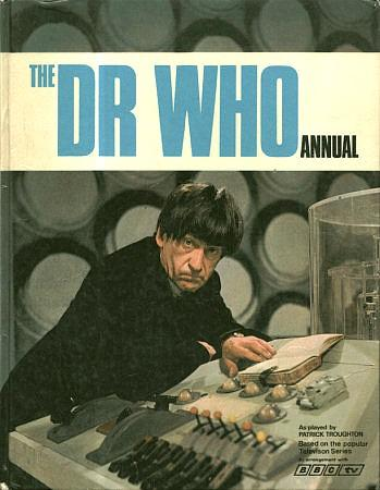 The Dr Who Annual 1970 by BBC TV - Patrick Troughton