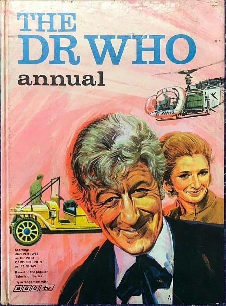 The Dr Who Annual 1971 by BBC TV ft.Jon Pertwee
