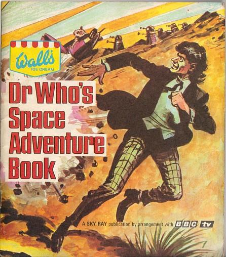 Wall's Ice Cream Dr Who's Space Adventure Book (1967) BBC TV
