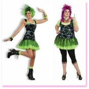 80s funk punk costumes for women