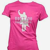 Don't You Forget About Me John Bender Fist Pump T-shirt