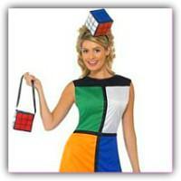 Runik's Cube Fancy Dress Costume