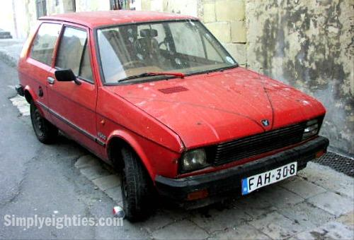 Yugo 45 A in red - public domain image