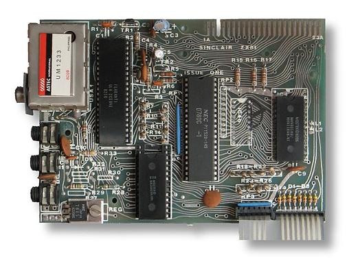 The ZX81 motherboard, Issue One version.